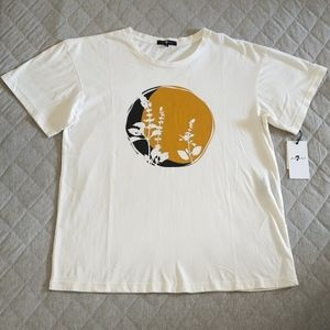7 For All Mankind Wildflowers Tee - NWT